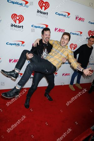 Stock Photo of Dustin Belt and Kendall Schmidt (Heffron Drive)