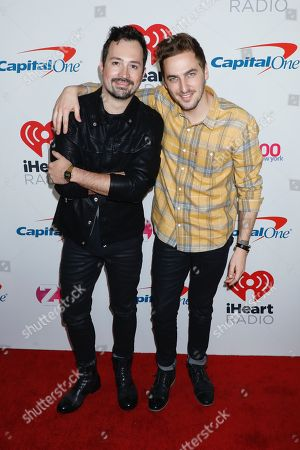 Dustin Belt and Kendall Schmidt (Heffron Drive)