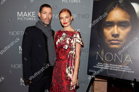 """Michael Polish, Kate Bosworth. Michael Polish, left, and Kate Bosworth, right, attend the premiere of """"Nona"""" at the Village East Cinema, in New York"""