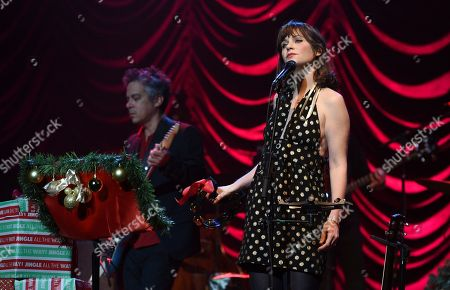 Editorial photo of A Very She & Him Christmas Party, Los Angeles, USA - 07 Dec 2018