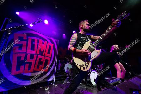 Editorial image of Sumo Cyco in concert, Academy 2, Manchester, UK - 07 Dec 2018