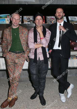 Stock Photo of Phil Hoelting, Eddie Alcazar, Matthias Koenigswieser