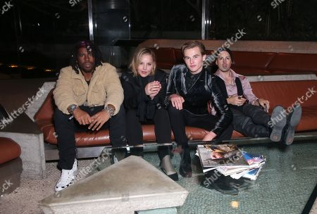 Flying Lotus, Abbie Cornish, Garrett Wareing, Eddie Alcazar