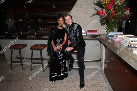 Stock Image of Quvenzhané Wallis, Garrett Wareing