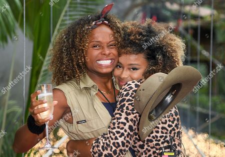 Fleur East is evicted and is welcomed by sister Keshia East