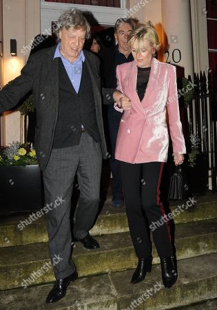 Tom Stoppard and Sir Andrew Lloyd Webber