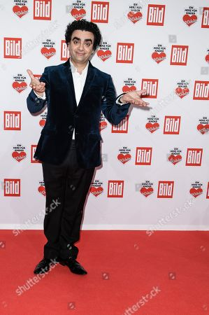 Mexican tenor Rolando Villazon arrives for the charity gala Ein Herz fuer Kinder (A Heart for Children) in Berlin, Germany, 08 December 2018. German television channel ZDF and newspaper 'Bild' collected donations for children's charity organizations in Germany and the whole world.