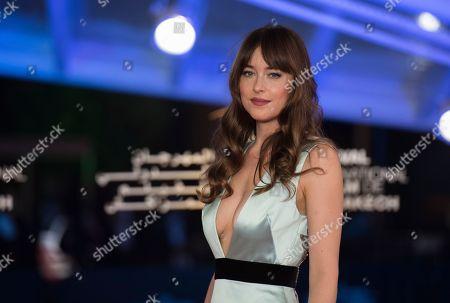 Dakota Johnson attends the closing ceremony of the 17th Marrakech International Film Festival , in Marrakesh, Morocco, 08 December 2018. The festival runs from 30 November to 08 December.