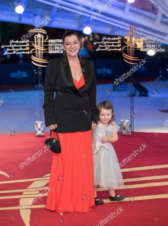 Lynne Ramsay attends the closing ceremony of the 17th Marrakech International Film Festival, in Marrakesh, Morocco, 08 December 2018. The festival runs from 30 November to 08 December.