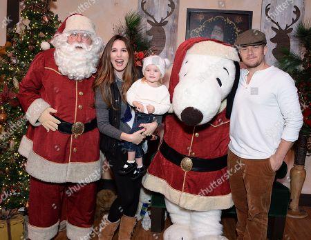 Christy Carlson Romano, husband Brendan Rooney and daughter Isabella