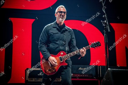 Brett Gurewitz of Bad Religion performs at the 2018 KROQ Absolut Almost Acoustic Christmas at The Forum, in Inglewood, Calif