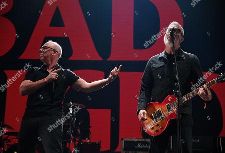 Stock Photo of Greg Graffin and Brett Gurewitz of Bad Religion