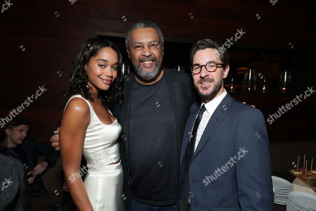 Laura Harrier, Isiah Whitlock Jr. and Producer Sean McKittrick