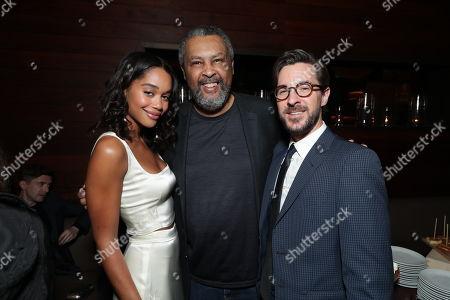 Laura Harrier, Isiah Whitlock Jr. and Producer Sean McKittrick