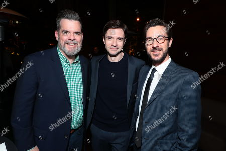 Josh McLaughlin, President of Production for Focus Features, Topher Grace and Producer Sean McKittrick