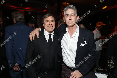Stock Picture of David O Russell and Alexander Payne