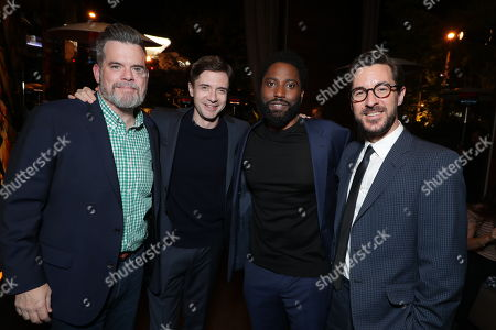 Josh McLaughlin - President of Production, Focus Features, Topher Grace, John David Washington and Producer Sean McKittrick