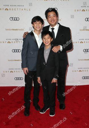 Ian Chen, Hudson Yang, Forrest Wheller