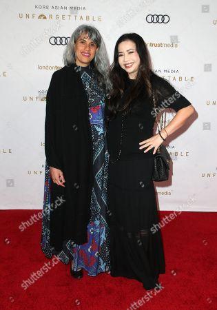 Stock Picture of Mimi Valdes, Nina Yang Bongiovi