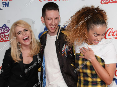 Paloma Faith, Sigala and Ella Eyre