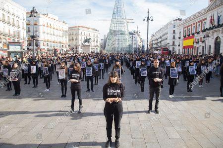 Animal cruelty protest, Madrid