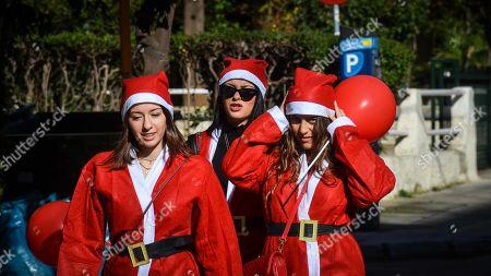 Santa Run, Athens