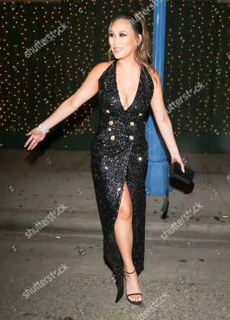 Dorothy Wang at Delilah Nightclub in West Hollywood