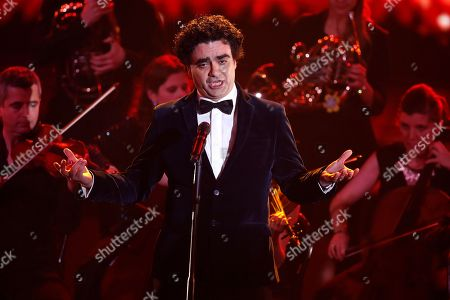 Rolando Villazon performs at the Ein Herz Fuer Kinder Gala show in Berlin, Germany, 08 December 2018. German television channel ZDF and newspaper 'Bild' collected donations for children's charity organizations in Germany and the whole world.