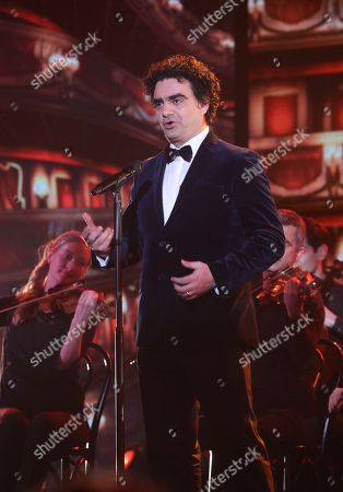 French-Mexican tenor Rolando Villazon perform during the charity gala Ein Herz fuer Kinder (A Heart for Children) in Berlin, Germany, 08 December 2018. German television channel ZDF and newspaper 'Bild' collected donations for children's charity organizations in Germany and the whole world.