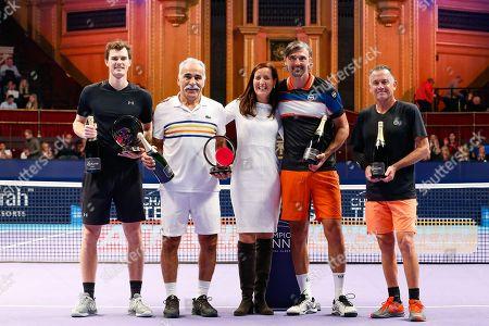 Editorial photo of Champions Tennis - 09 Dec 2018