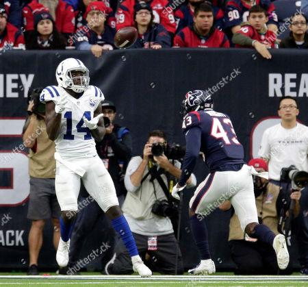 Editorial image of Colts Texans Football, Houston, USA - 09 Dec 2018