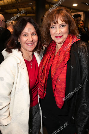 Arlene Phillips and Harriet Thorpe