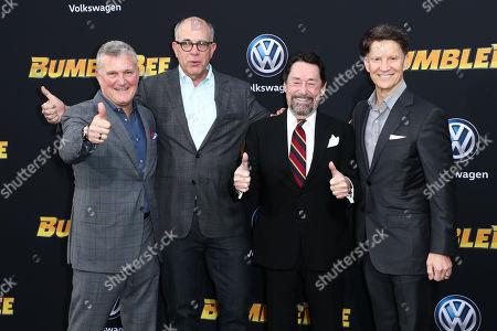 Stephen Davis, David Sameth, Peter Cullen and Brian Goldner