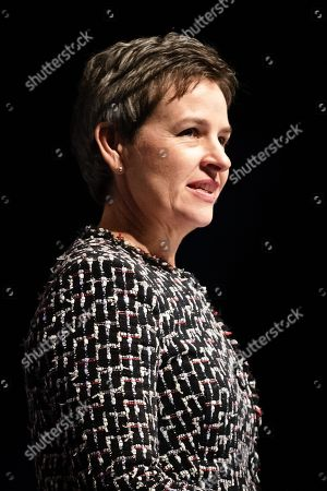Mary Creagh MP at a joint political rally calling for a second referendum and people's vote by anti Brexit groups, Best for Britain and the People's Vote campaign, held at the ExCel Centre