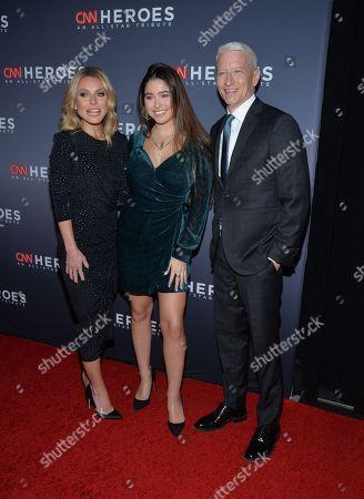 Kelly Ripa, Lola Consuelos, Anderson Cooper
