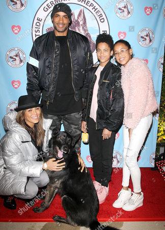 Boris Kodjoe and Nicole Ari Parker and family