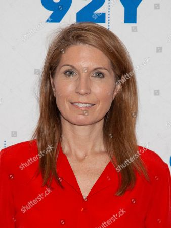 Nicolle Wallace poses backstage at the 92nd Street Y, in New York