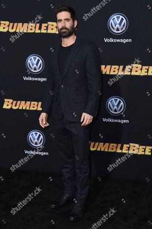 """Stock Image of Stephen Schneider attends the LA premiere of """"Bumblebee"""" at TCL Chinese Theatre, in Los Angeles"""