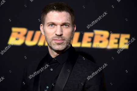 """Travis Knight attends the LA premiere of """"Bumblebee"""" at TCL Chinese Theatre, in Los Angeles"""