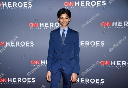 Rohan Chand attends the 12th annual CNN Heroes: An All-Star Tribute at the American Museum of Natural History, in New York