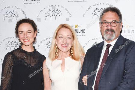 Stock Image of Johanna Pfaelzer, Patricia Wettig and Ken Olin