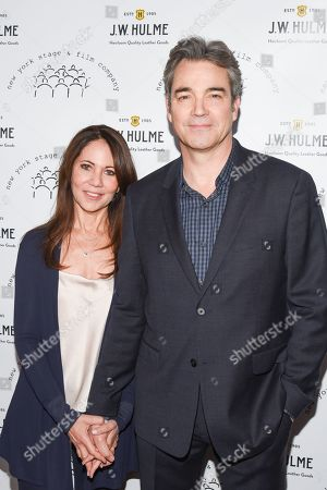 Stock Image of Leslie Urdang and Jon Tenney