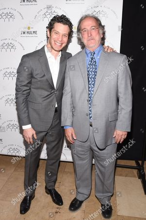 Stock Image of Tommy Kail and Mark Linn-Baker
