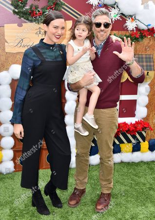 Odette Annable, Dave Annable and Charlie Mae Annable