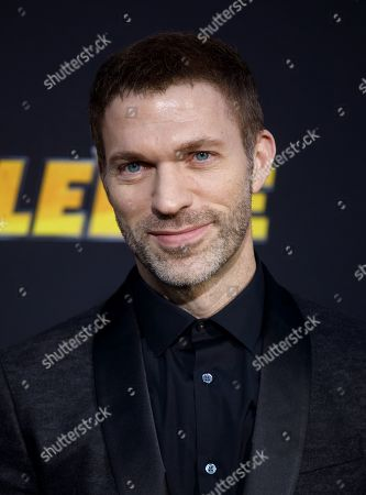 Travis Knight poses during arrivals for the world premiere of 'Bumblebee' in Hollywood, California, USA, 09 December 2018.