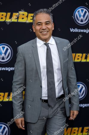 John Ortiz poses during arrivals for the world premiere of 'Bumblebee' in Hollywood, California, USA, 09 December 2018.