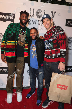 Editorial photo of The Ugly Sweater Holiday Party Hosted by JUGLIFE & Levi's, Los Angeles, USA - 9 Dec 2018