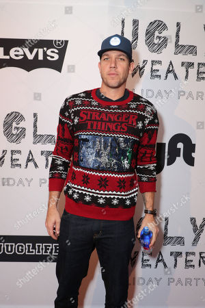 Editorial picture of The Ugly Sweater Holiday Party Hosted by JUGLIFE & Levi's, Los Angeles, USA - 9 Dec 2018