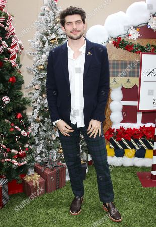 Editorial photo of Brooks Brothers holiday celebration, Los Angeles, USA - 09 Dec 2018
