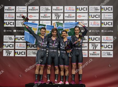 Editorial image of Tissot UCI Track Cycling World Cup, Cycling, Lee Valley Velopark, London - 14 Dec 2018